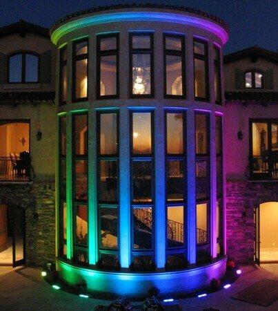 Iluminación LED Fachadas