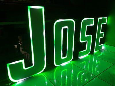 Letreros led 3D