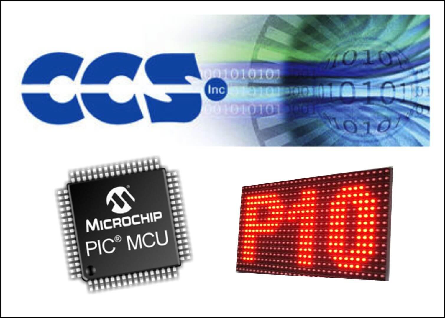 Panel Led con PIC y Matriz led 16x32 en CCS