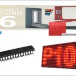 Panel Led con AVR y Matriz led 16x32 en Atmel